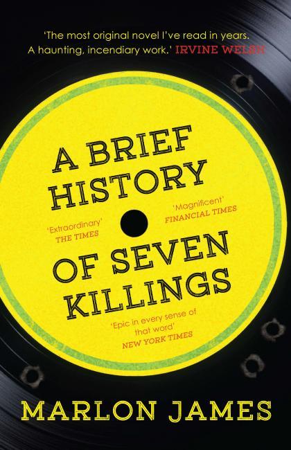 A Brief History of Seven Killings - coperta