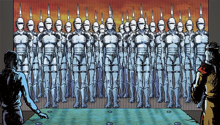 Nu, nu e Star Wars. Atacul Clonelor. E Abatia.