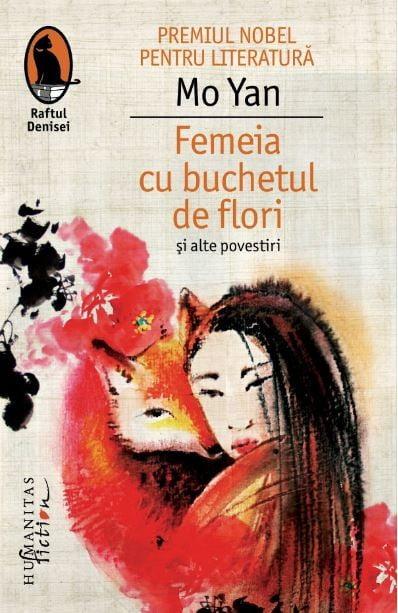 Femeia cu buchetul de flori - coperta