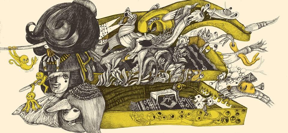 """ilustratii: Loreta Isac; sursa imagine: """"Cartea nasoaselor"""" - pagina de Facebook"""