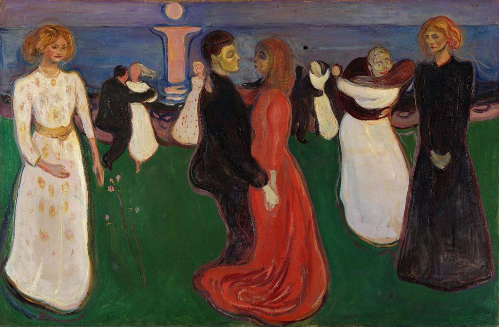 pictura: Edvard Munch, Dansul vietii, Galeria Nationala din Oslo, en.wikipedia.org