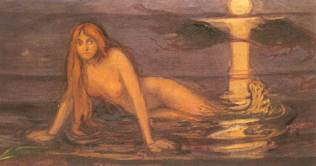 pictura: Edvard Munch, Sirena, Philadelphia Museum of Art, en.wikipedia.org
