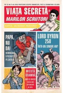 Viata secreta a marilor scriitori - coperta