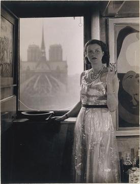 Peggy Guggenheim, c.1930, Paris, photograph by Rogi André (Rozsa Klein); https://en.wikipedia.org/wiki/Peggy_Guggenheim