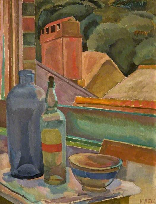Vanessa Bell - Still Life (c) Henrietta Garnett; Supplied by The Public Catalogue Foundation/https://www.wikiart.org/en/vanessa-bell/window-still-life-1915