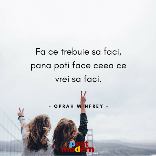 Citat motivational, Oprah Winfrey