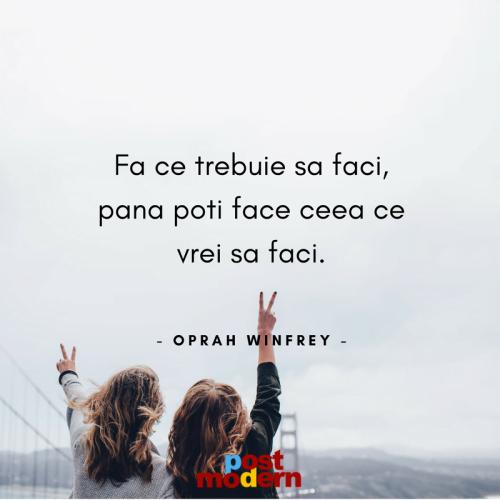 Citat motivational, Oprah Winfrey