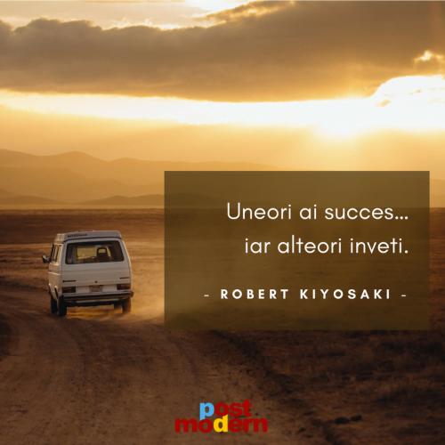 Citat motivational, Robert Kiyosaki