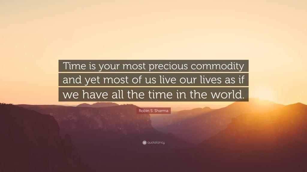 Robin-S-Sharma-citat timpul