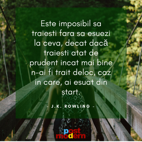 Citat motivational, J.K. Rowling