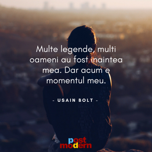 Citat motivational, Usain Bolt