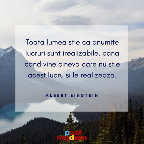 Citat motivational, Albert Einstein