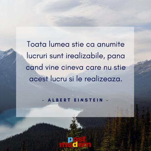 Citat motivational, Albert Einstein
