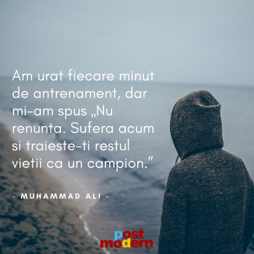 Citat motivational, Muhammad Ali