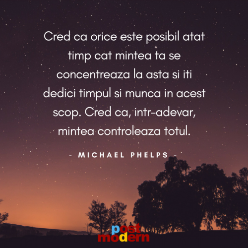Citat motivational, Michael Phelps