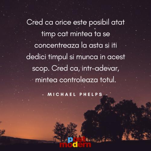 Citat motivational, Michael Phelps
