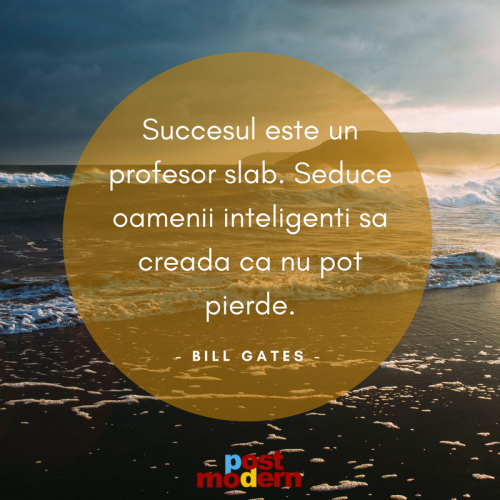 Citat motivational, Bill Gates