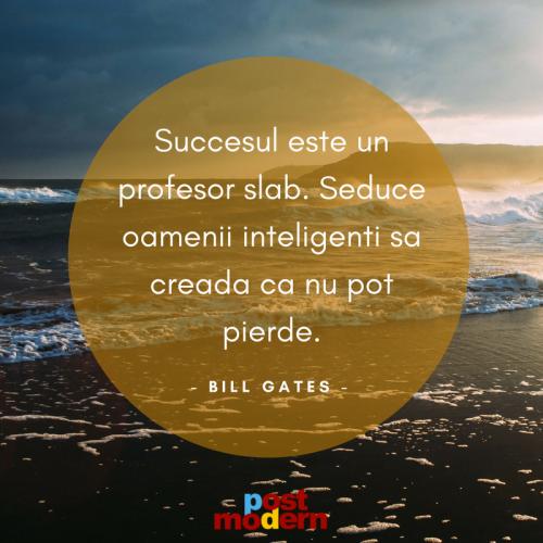 Citat motivational, Bill Gates