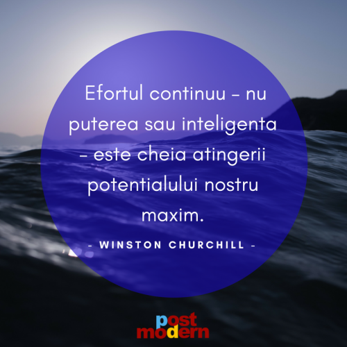 Citat motivational, Winston Churchill