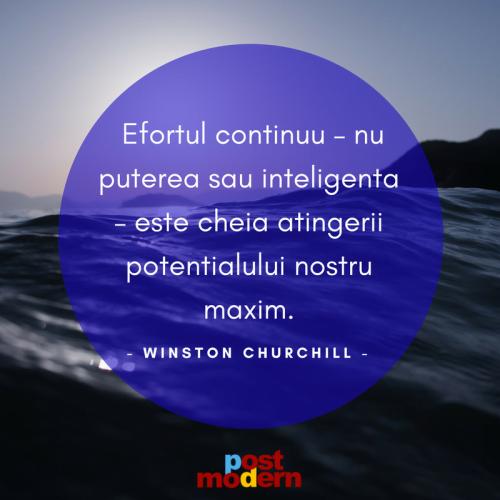 Citat motivational, Winston Churchill