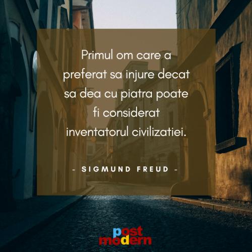 Citat motivational Sigmund Freud