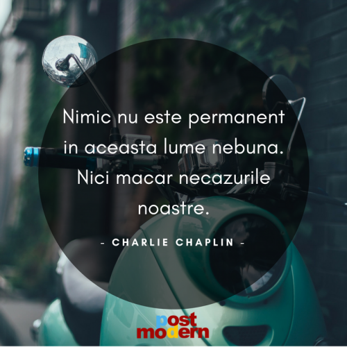 Citat motivational, Charlie Chaplin
