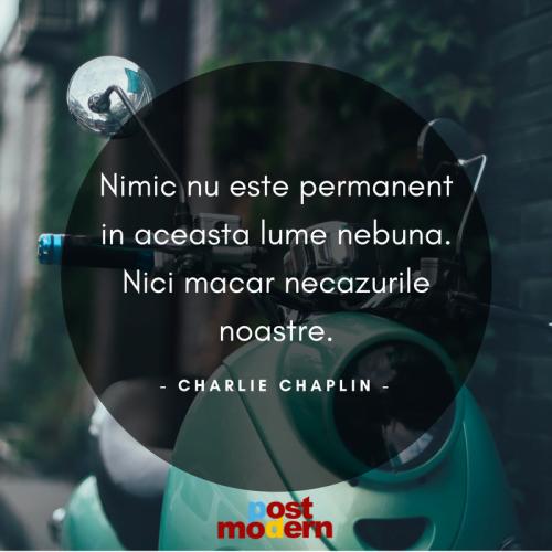 Citat motivational, Charlie Chaplin