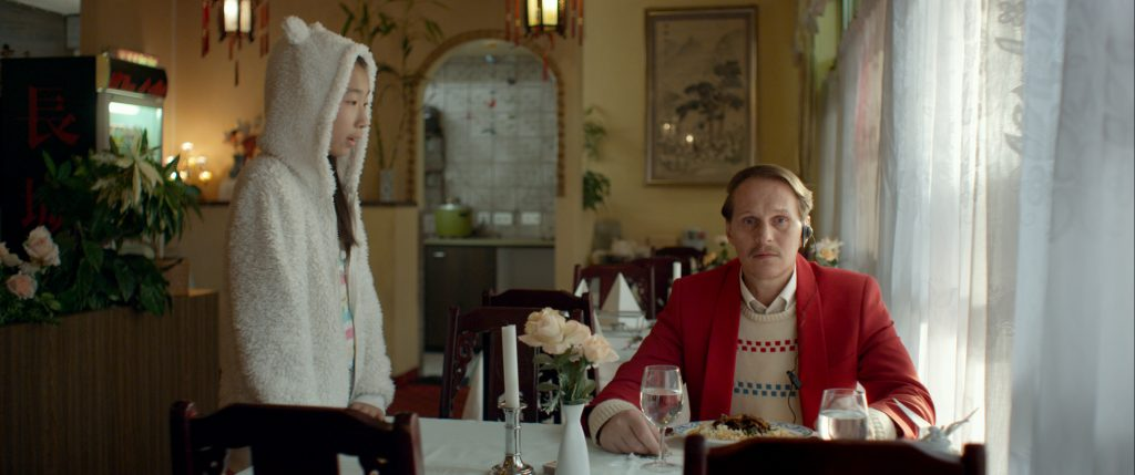 imagine: homemcr.org/film/ALOYS by Tobias Noelle / Georg Friedrich as Aloys, Yufei Li as Yen Lee ©Hugofilm / Simon Guy Faessler