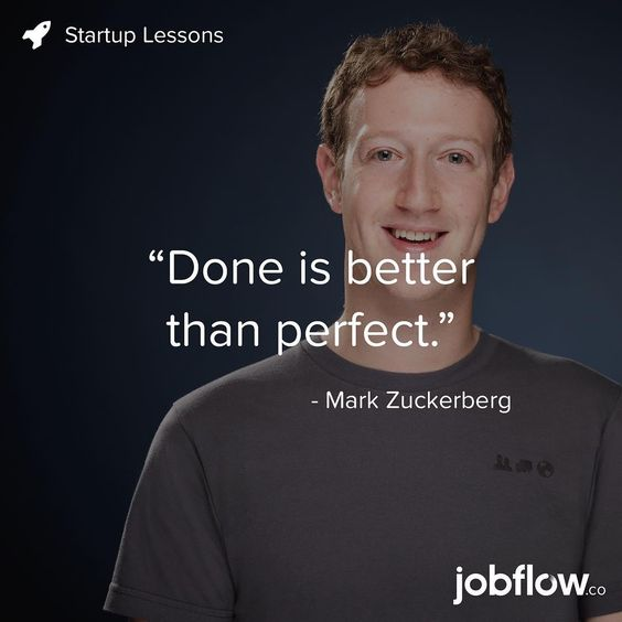 mark zuckerberg done is better