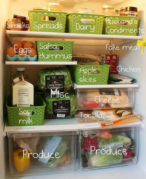 mănânci sănătos și ieftin, depozitarea alimentelor