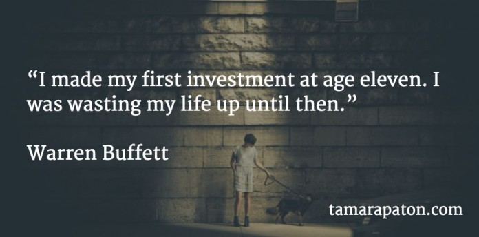 I made my first investment at age eleven