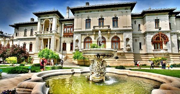 intrare muzeul cotroceni