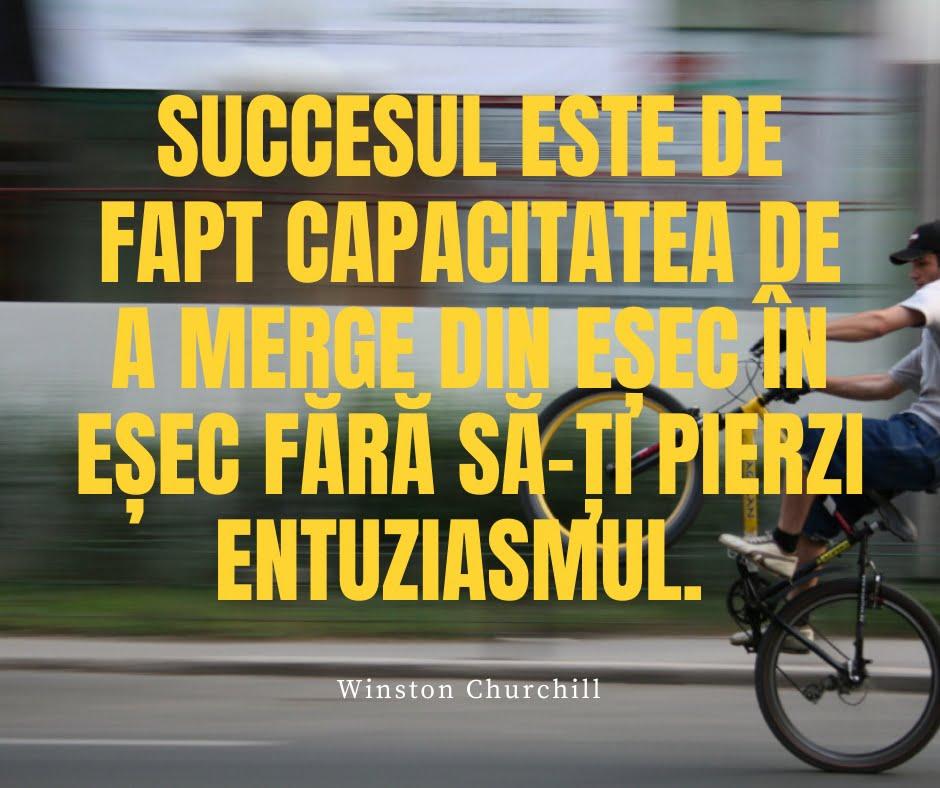 citat celebru despre succes winston churchill