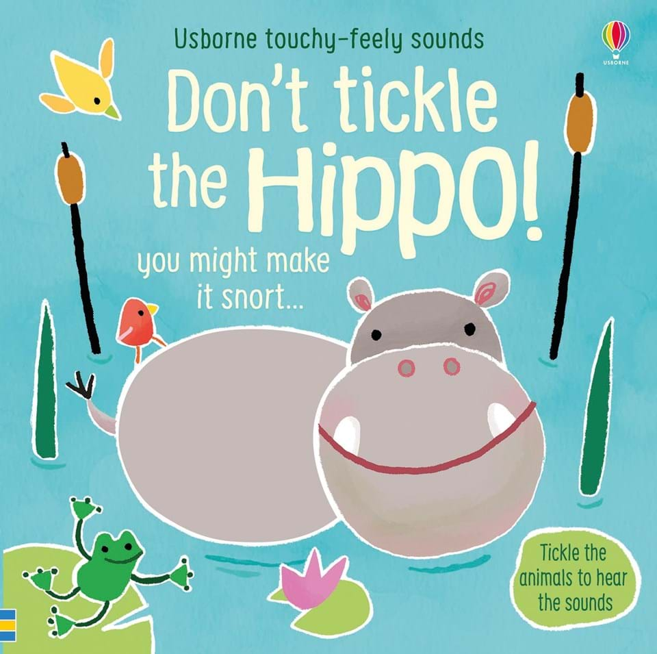 Don_t tickle the hippo carti de copii