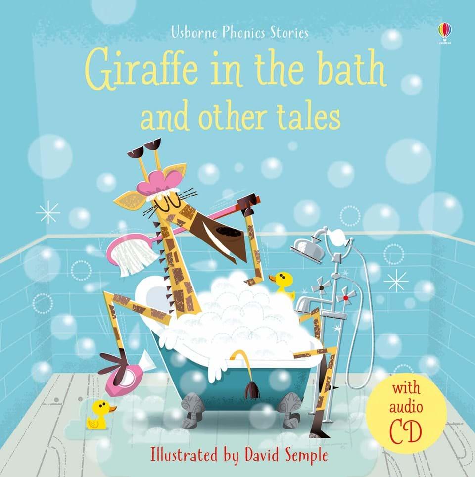 Giraffe in the bath carti usborne