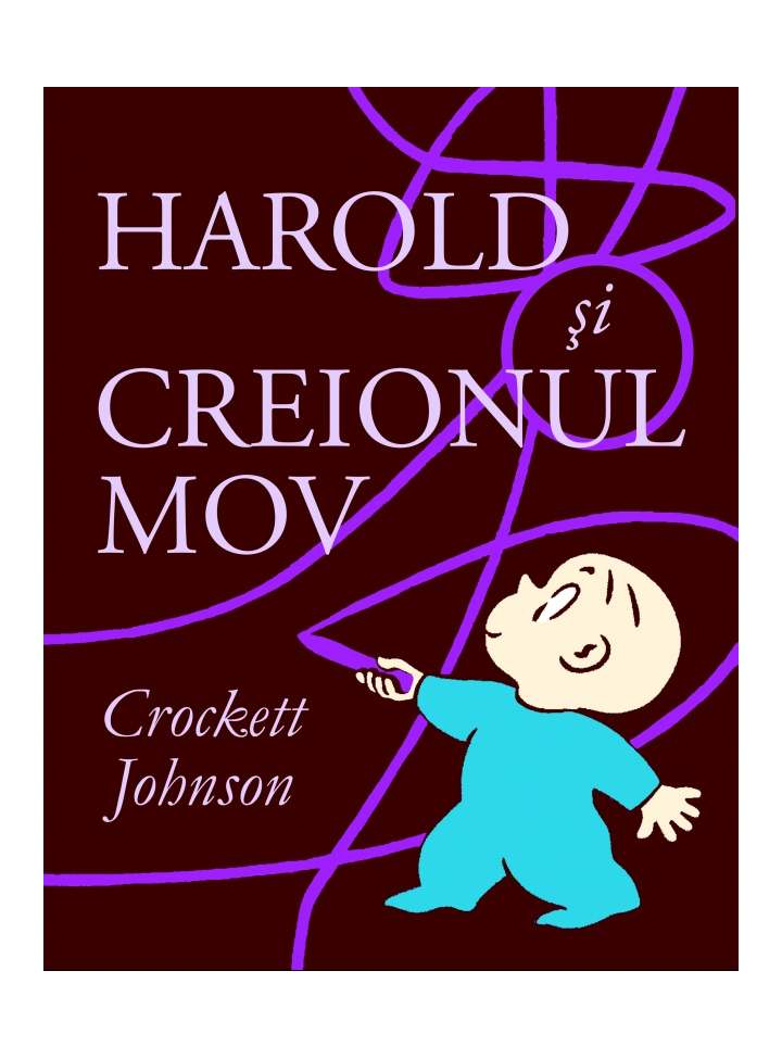 Harold si creionul mov Wind up Train carti educative