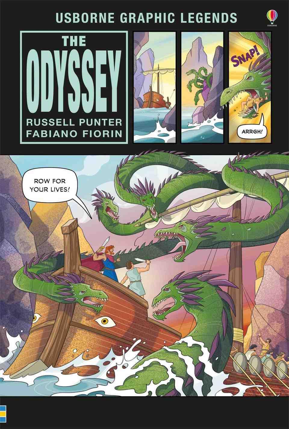 Odyssey Graphic Novel Cel mai minunat lucru carti pentru copii de 9 ani