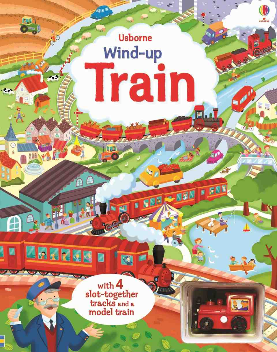 Wind up Train carti educative