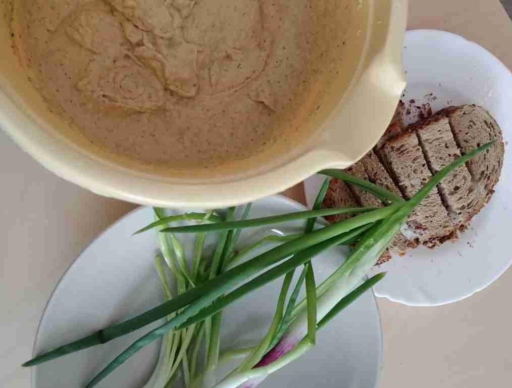 humus retete usoare
