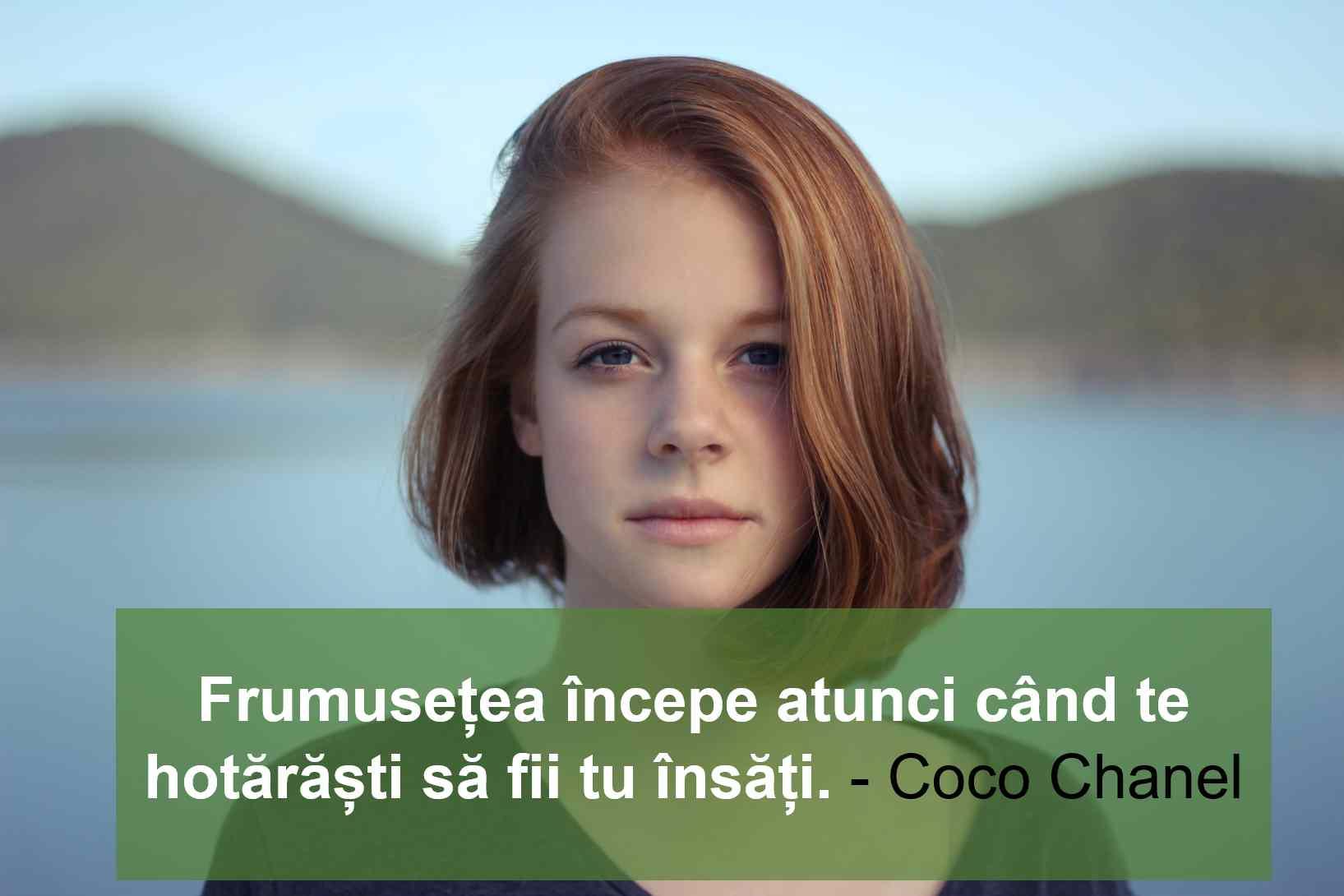 citate femei coco chanel