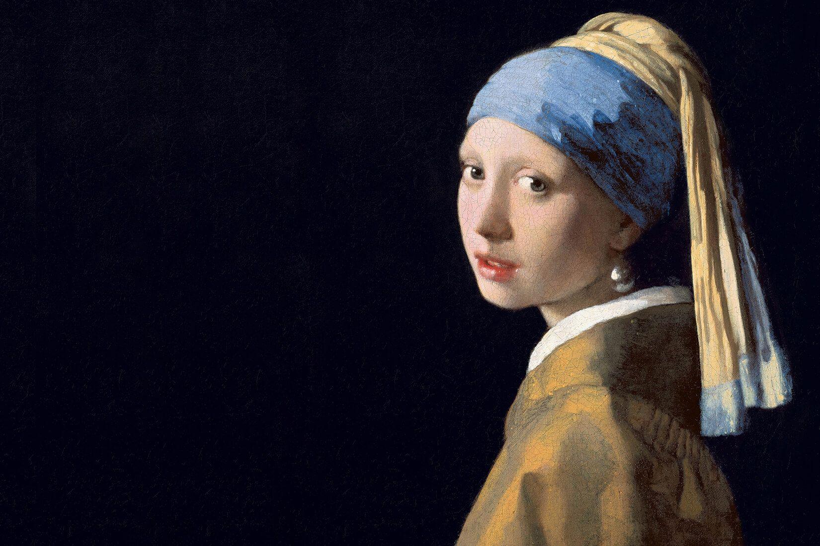 10. Fata cu cercel de perla picturi faimoase