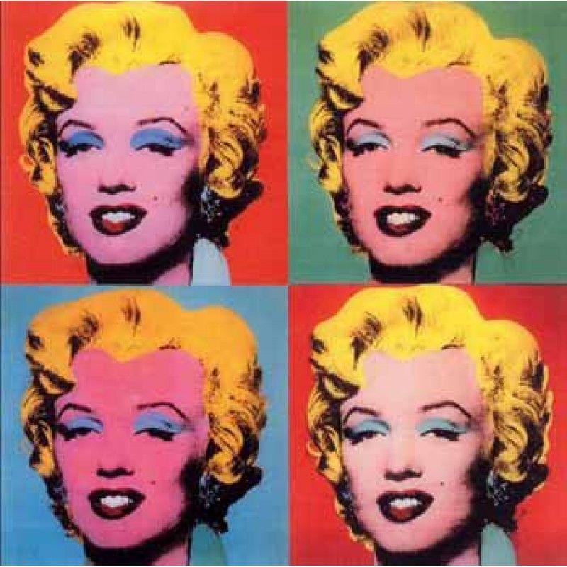 12. The shot Marilyns andy warhol