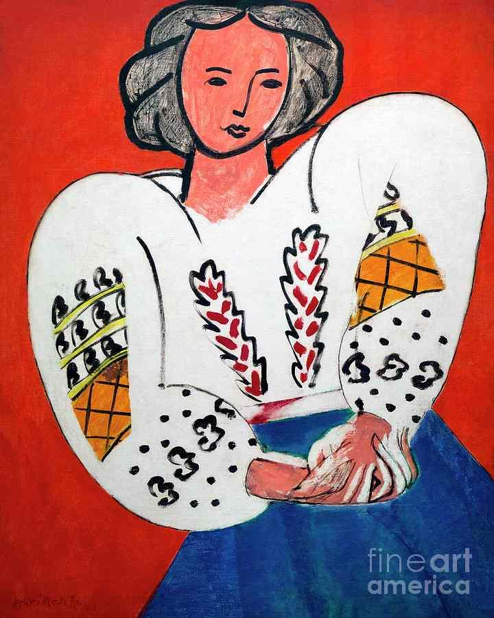 14. matisse - la blouse roumaine