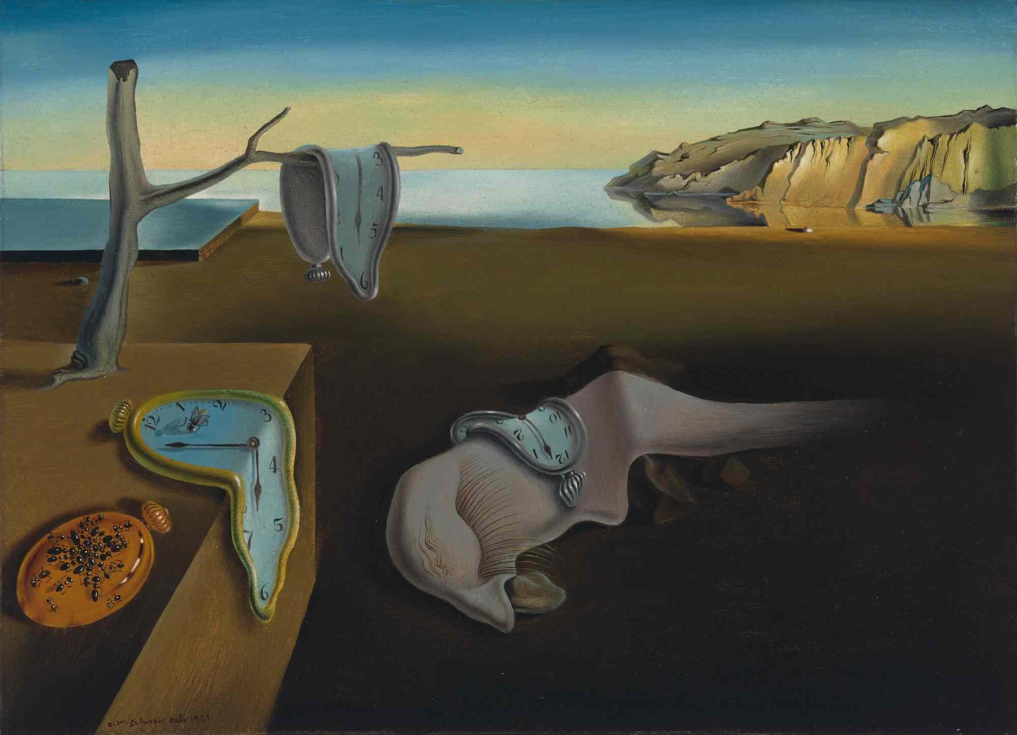 16. Persistența memoriei tablouri celebre