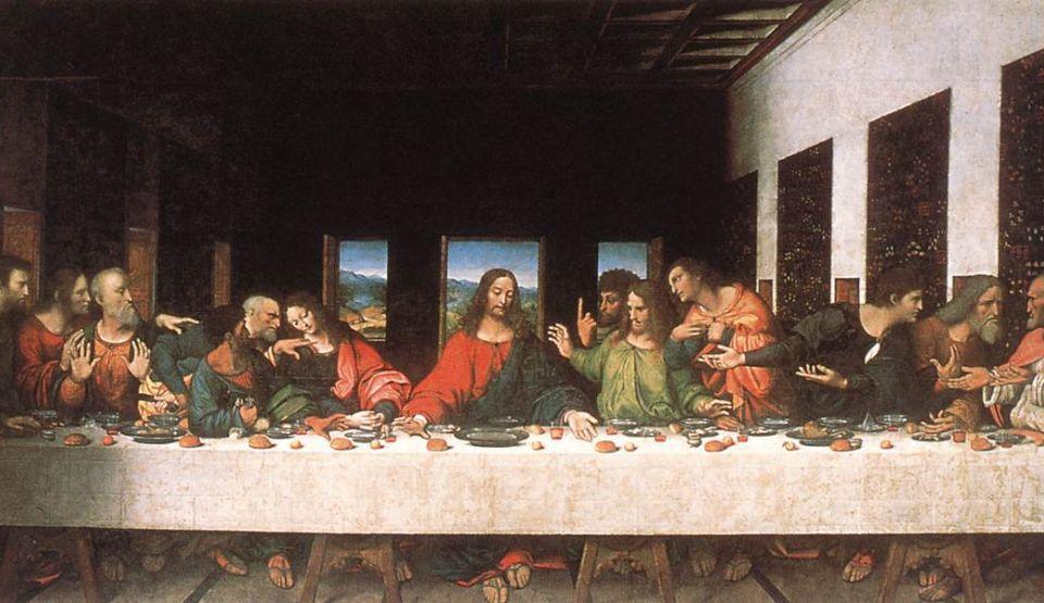 2. Cina cea de taină picturi celebre