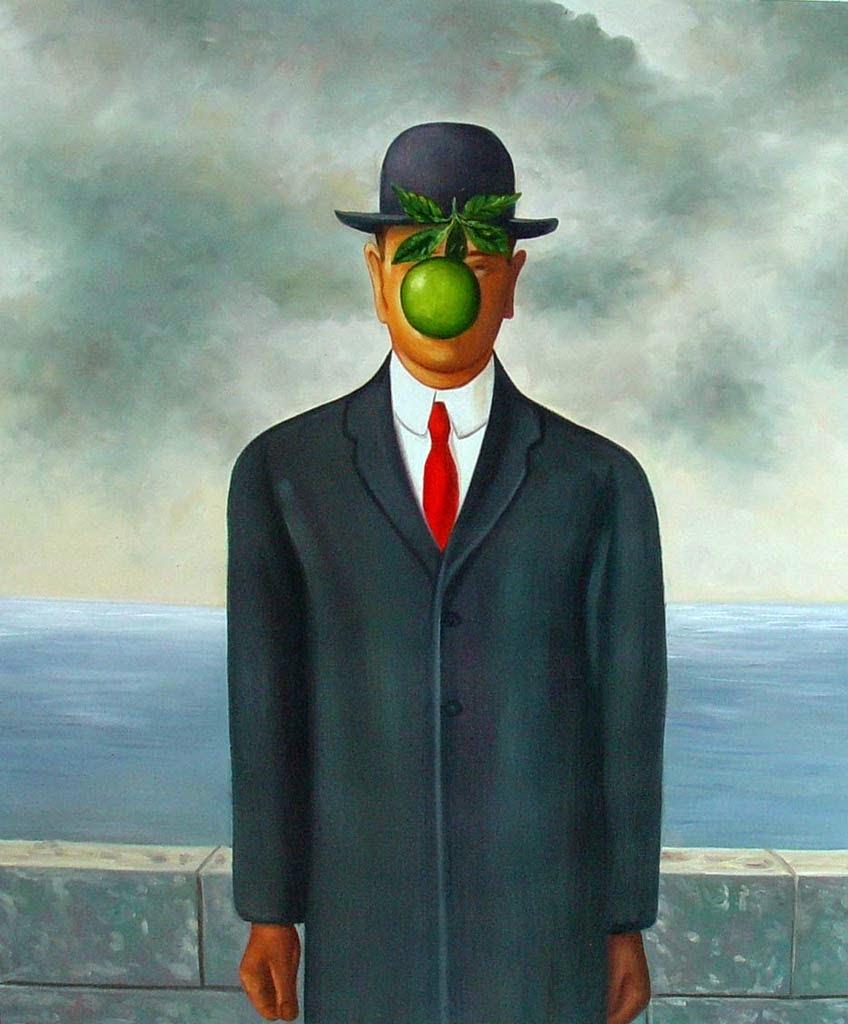 4. The Son of Man, 1964 tablouri celebre
