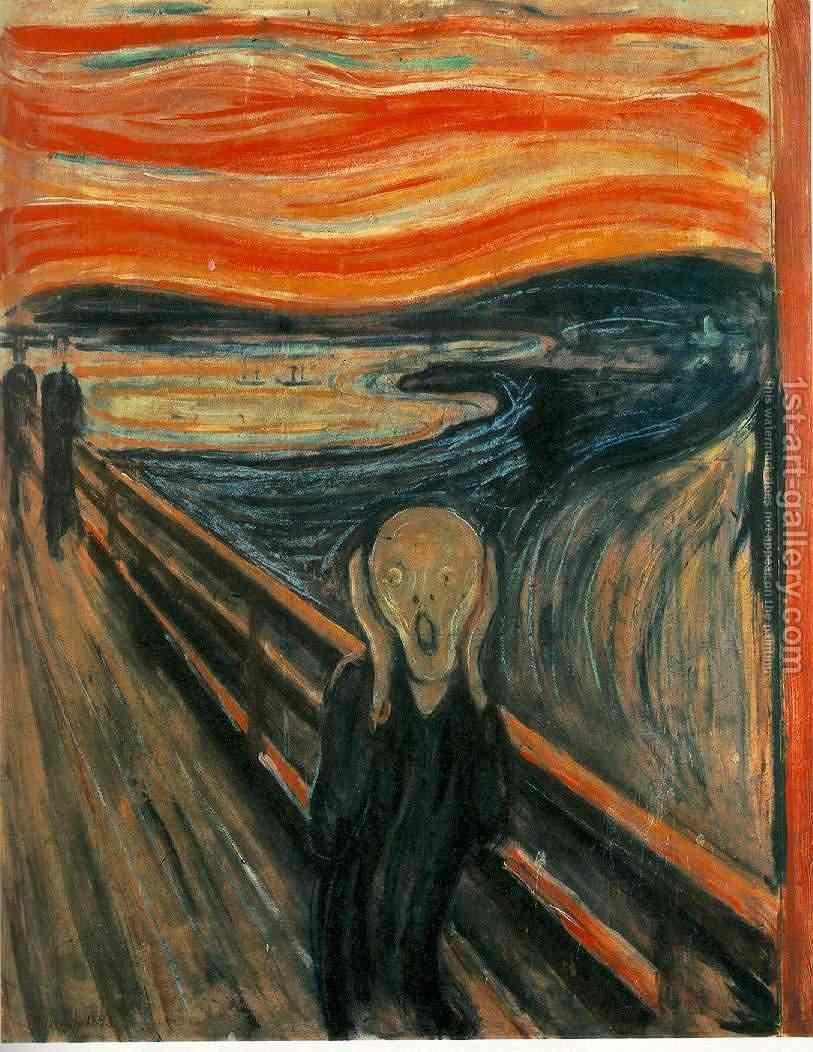6. The-Scream tablouri celebre