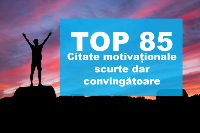 citate motivationale scurte lista