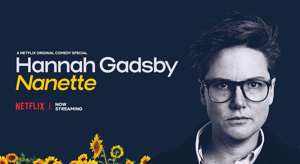 Hannah Gadsby - Nanette standup netflix