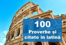 top citate in latina proverbe in latina expresii latinesti
